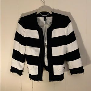 White House Black Market Jackets & Coats | Tweed Business Attire | Poshmark